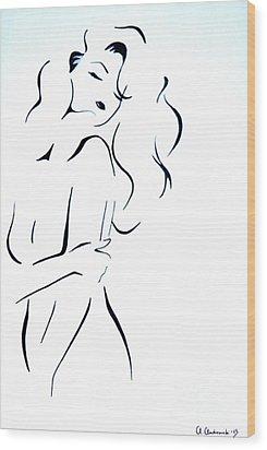 Elise Wood Print by Anna Androsovski