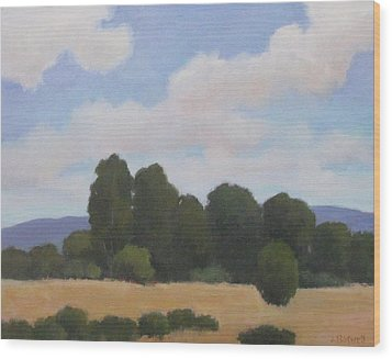 Ellwood Wood Print by Jennifer Boswell