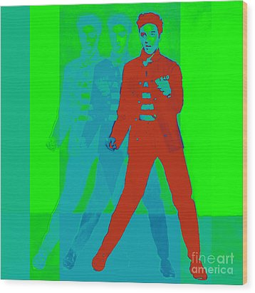 Elvis Jail House Rock 20130215p68 Wood Print by Wingsdomain Art and Photography