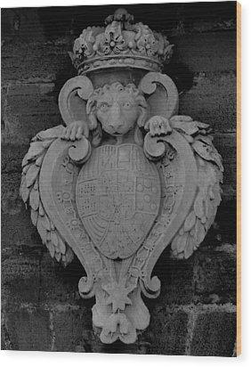 Emblem Wood Print
