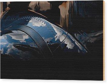 Embraer Reflection II Wood Print by Paul Job