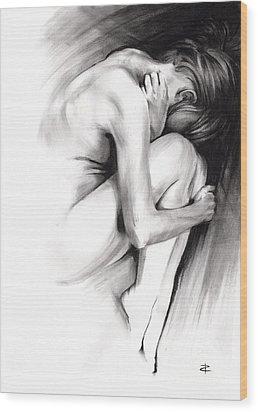 Embryonic IIi Wood Print by Paul Davenport