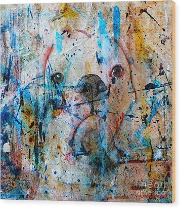 Emerging Wood Print by Judy Wood