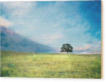 Emerging Spring Wood Print
