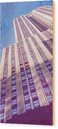 Wood Print featuring the photograph Empire State Building by Chris McKenna