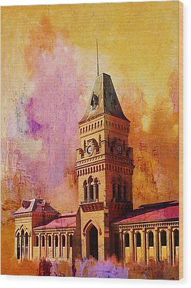 Empress Market Wood Print by Catf