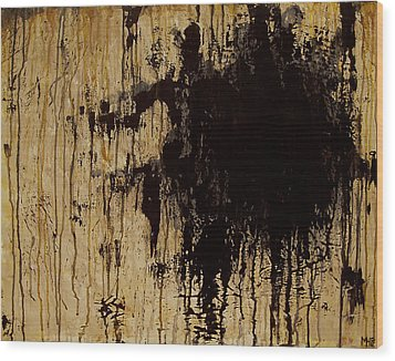 Emptiness Wood Print by Marlon Huynh