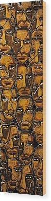 Empyreal Souls No. 5 - Study No. 1 Wood Print by Steve Bogdanoff
