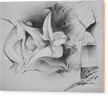 En Voyage Wood Print
