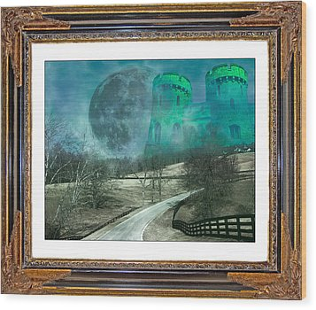 Enchanting Evening With Oz Wood Print by Betsy Knapp