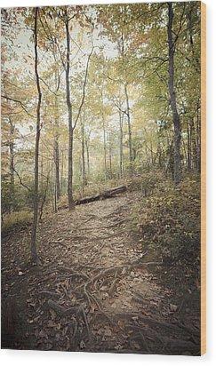 Enchanting Forest Wood Print