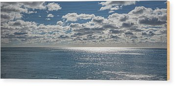 Endless Clouds I Wood Print by Jon Glaser