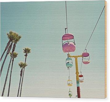 Endless Summer - Santa Cruz, California Wood Print
