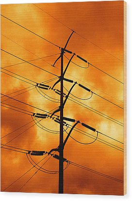 Energized Wood Print by Don Spenner