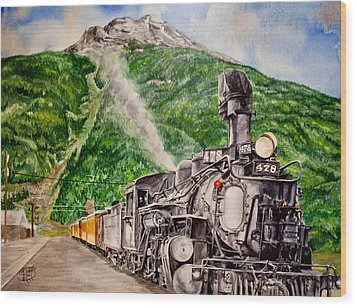 Engine 478 Wood Print