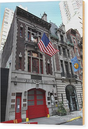 Engine Company 23 Fdny Wood Print