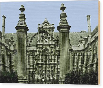 England 1986  Disk1 Part2 Snapshot0146a1 Jgibney The Museum Zazzle Gifts Wood Print by The MUSEUM Artist Series jGibney