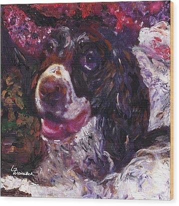 Alameda Tevye Wood Print by Linda Weinstock