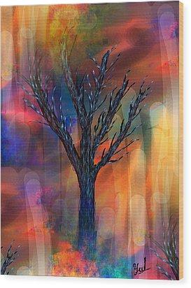 Enlightenment Wood Print by Yul Olaivar