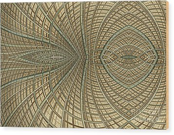 Enmeshed Wood Print by John Edwards