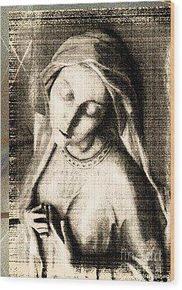 Enraptured  Wood Print