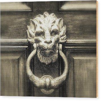 Enter Wood Print by Bruce Carpenter