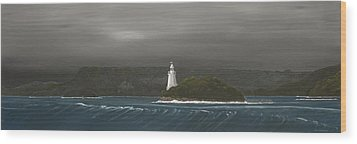 Entrance To Macquarie Harbour - Tasmania Wood Print