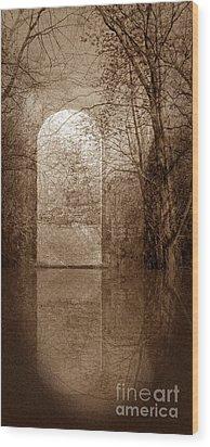 Entranced Wood Print by Liz  Alderdice