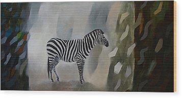 Entropy Wood Print by Jukka Nopsanen