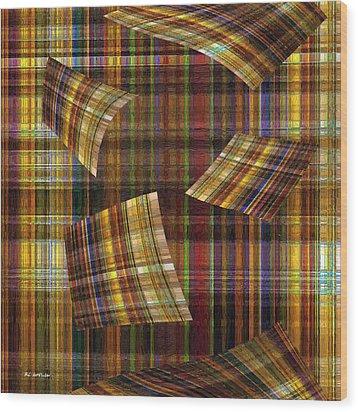 Entropy Wood Print by RC deWinter