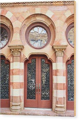 Entry Charleston Wood Print by William Dey