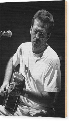 Eric Clapton 003 Wood Print