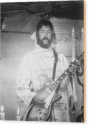 Eric Clapton In Tommy  Wood Print