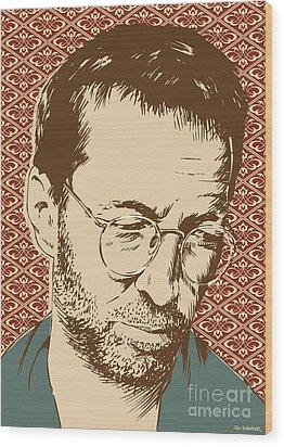 Eric Clapton Wood Print by Jim Zahniser