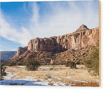 Escalante Canyon Wood Print by Nadja Rider