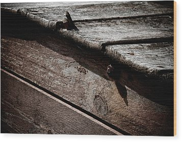 Escalator To Limbo Wood Print by Odd Jeppesen