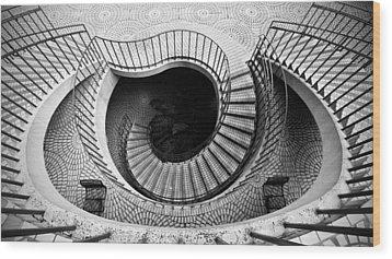Escheresque Wood Print by Alexis Birkill