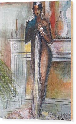 Esmeralda Wood Print