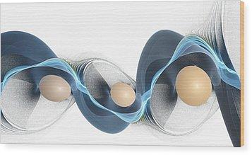 Essence Wood Print by Anastasiya Malakhova