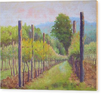Estate Pinot Wood Print