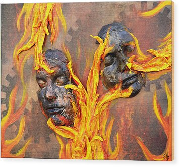 Eternal Damnation Wood Print