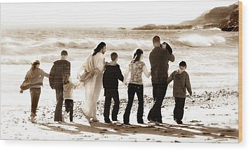 Eternal Family Wood Print