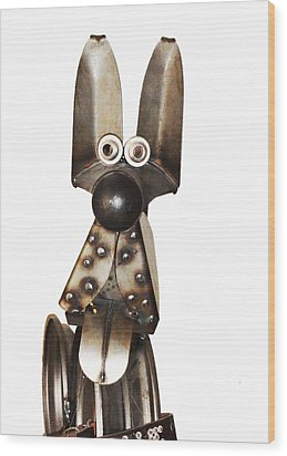 Eternal Guard Dog 1a  Wood Print by Bruce Iorio