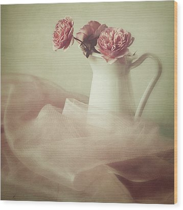 Ethereal Wood Print by Amy Weiss