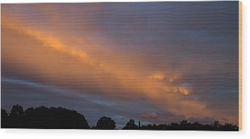 Ethereal Clouds Wood Print by Greg Reed