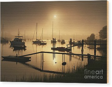 Ethereal Morning Wood Print by Butch Lombardi