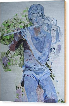 Etude Wood Print by Sandy McIntire