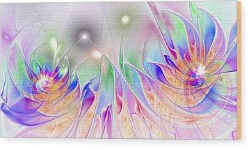 Euphoria Wood Print by Anastasiya Malakhova