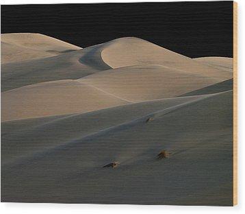 Eureka Dune Dreams Wood Print by Joe Schofield