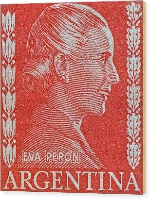 Eva Wood Print by Bill Owen